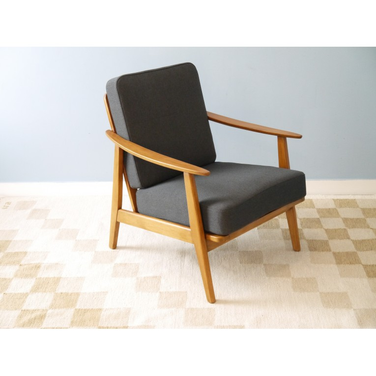 fauteuil vintage danois design scandinave la maison retro. Black Bedroom Furniture Sets. Home Design Ideas