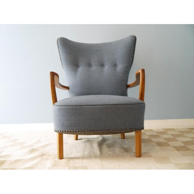 fauteuil scandinave design danois la maison retro. Black Bedroom Furniture Sets. Home Design Ideas