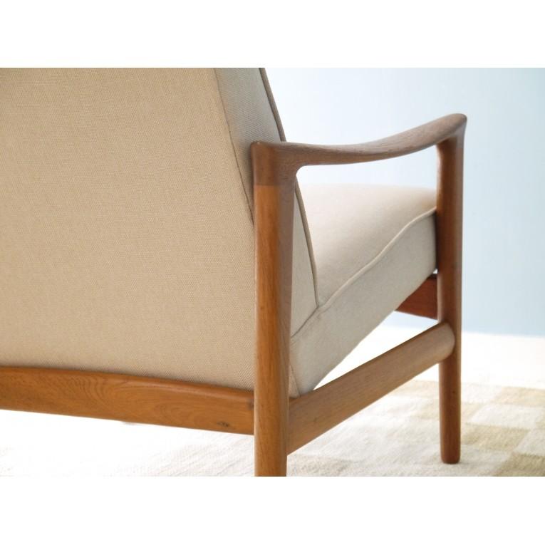 Fauteuil teck design pas cher fauteuils teck toile - Fauteuil design scandinave pas cher ...