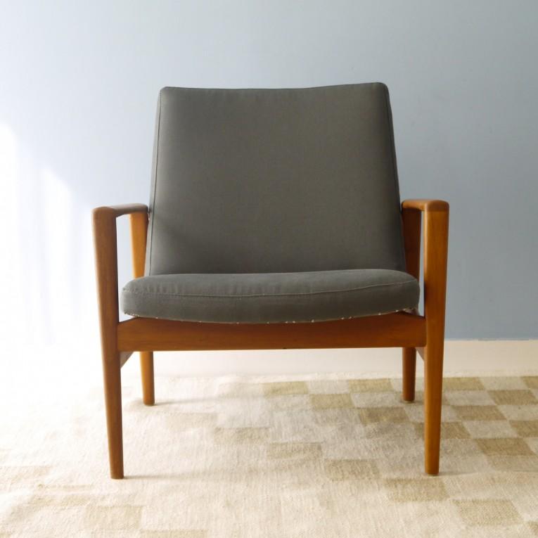 fauteuil design scandinave teck la maison retro