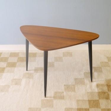 table basse tripode vintage - la maison retro