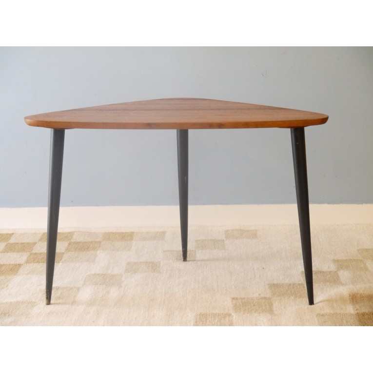 Table basse tripode vintage la maison retro for Petite table basse scandinave