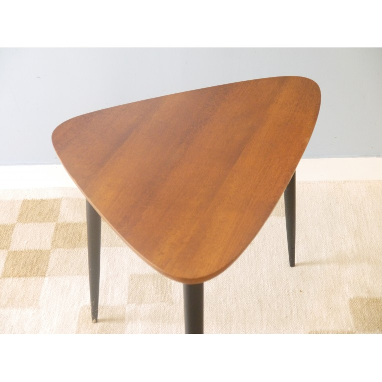 Table basse tripode vintage la maison retro for Table basse retro