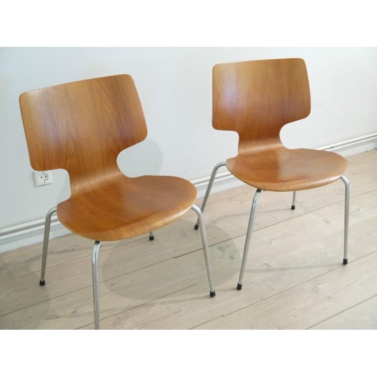 chaises design danois la maison retro. Black Bedroom Furniture Sets. Home Design Ideas