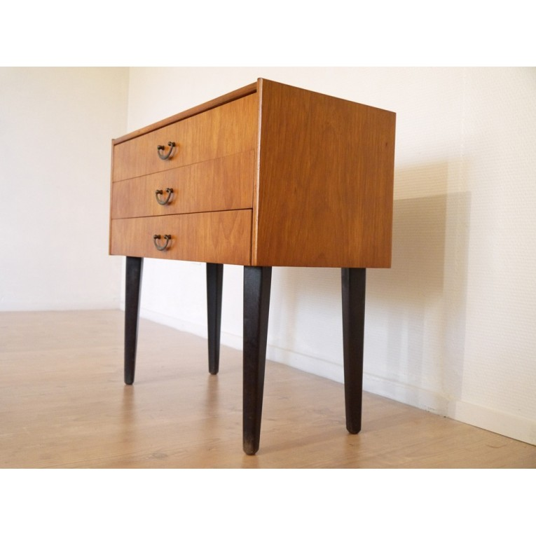 Commode vintage scandinave la maison retro - Meuble d appoint wc ...