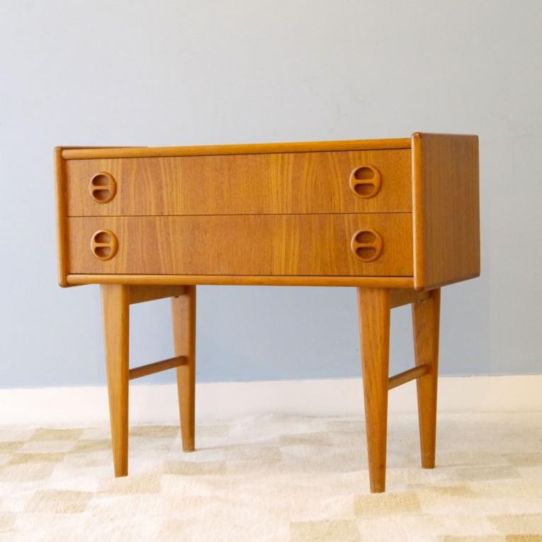 commode vintage scandinave teck la maison retro. Black Bedroom Furniture Sets. Home Design Ideas