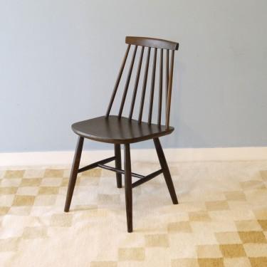 chaise vintage en bois 1960
