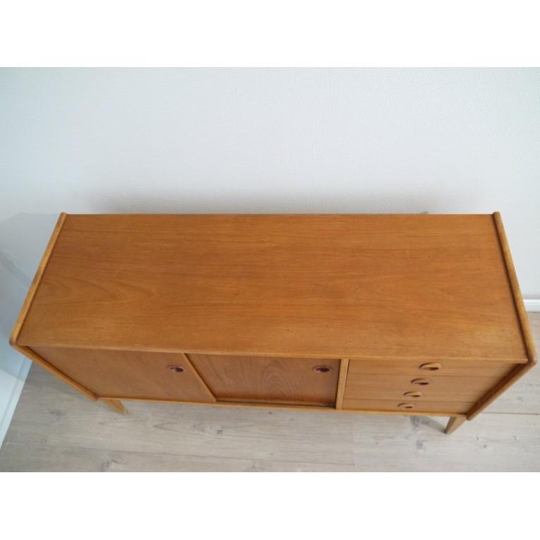 enfilade scandinave teck 1960 la maison retro. Black Bedroom Furniture Sets. Home Design Ideas