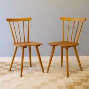 Assises 2 la maison retro - Chaises scandinaves vintage ...