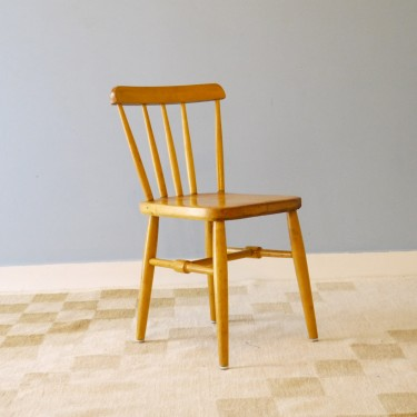 Chaise vintage enfant en bois