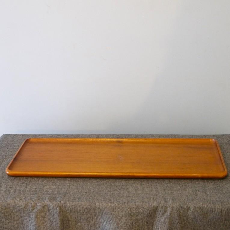 vaisselle vintage plateau teck la maison retro. Black Bedroom Furniture Sets. Home Design Ideas