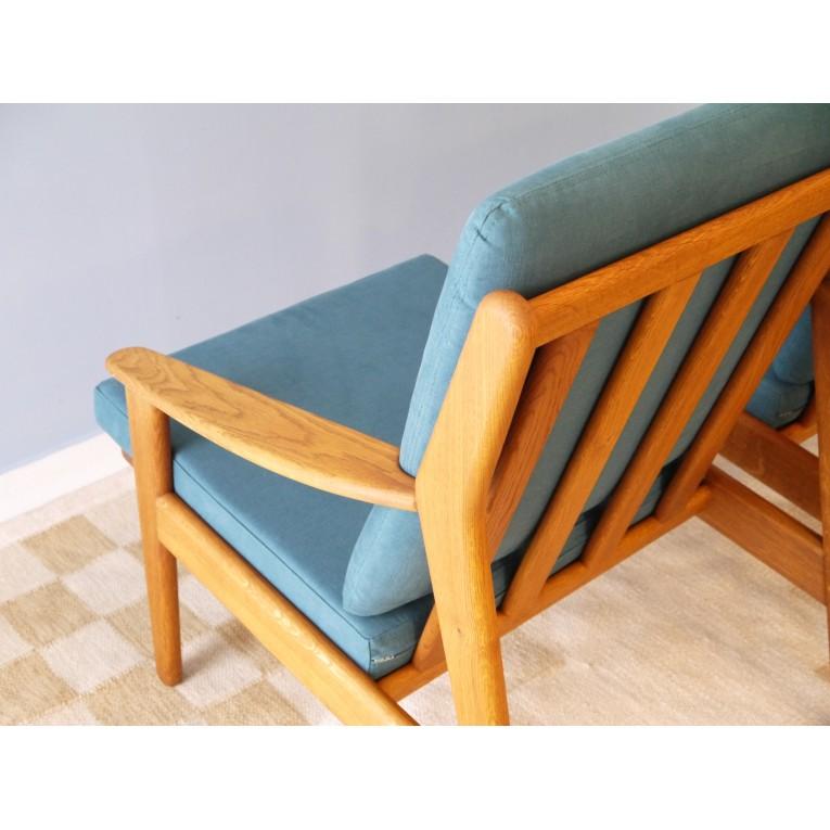 fauteuils design scandinave vintage bois la maison retro. Black Bedroom Furniture Sets. Home Design Ideas