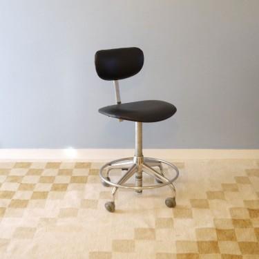 Chaise De Bureau Vintage Industriel