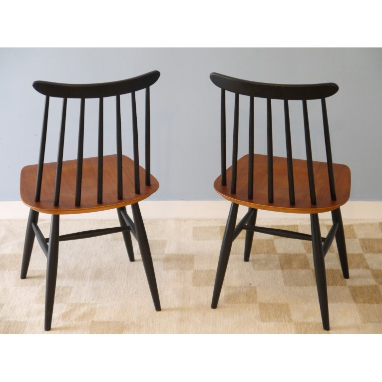 chaises fanett tapiovaara design scandinave vintage la maison retro. Black Bedroom Furniture Sets. Home Design Ideas