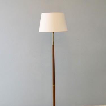 Lampadaire vintage année 50 en teck