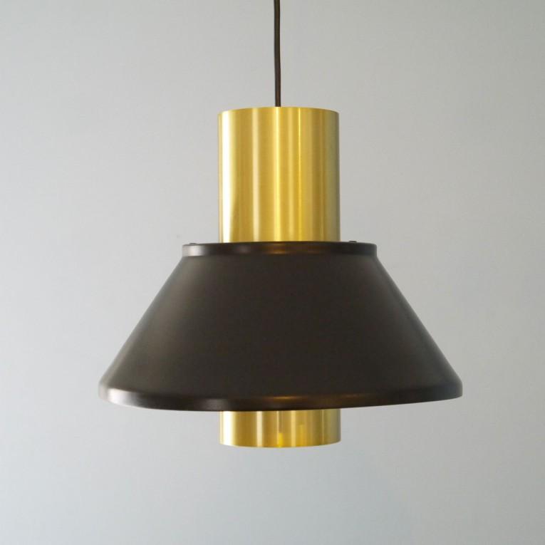 suspension design scandinave laiton hammerborg fog morup la maison retro. Black Bedroom Furniture Sets. Home Design Ideas