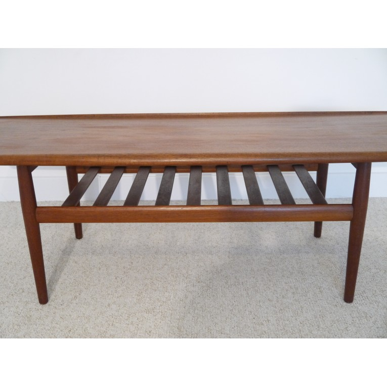 Emejing table basse vintage scandinave ideas joshkrajcik for Grande table scandinave