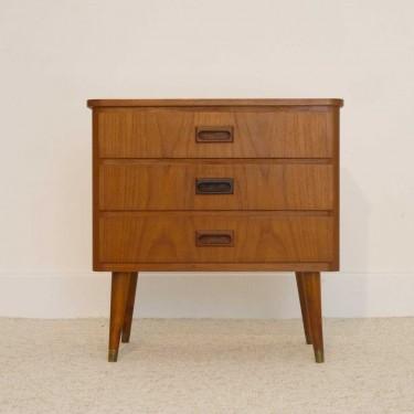 petite commode entree appoint vintage scandinave la. Black Bedroom Furniture Sets. Home Design Ideas