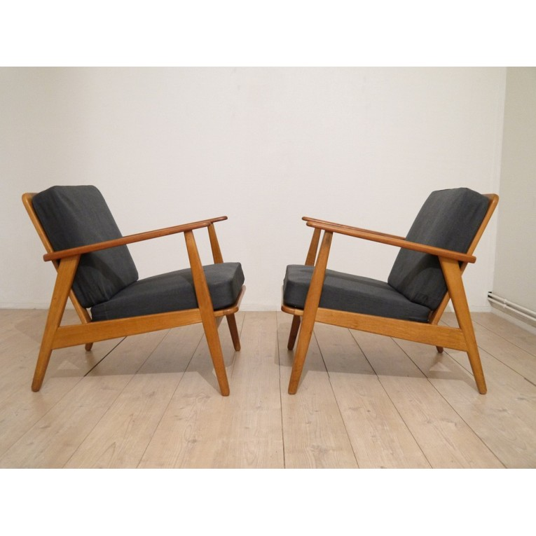 fauteuil design scandinave la maison retro. Black Bedroom Furniture Sets. Home Design Ideas