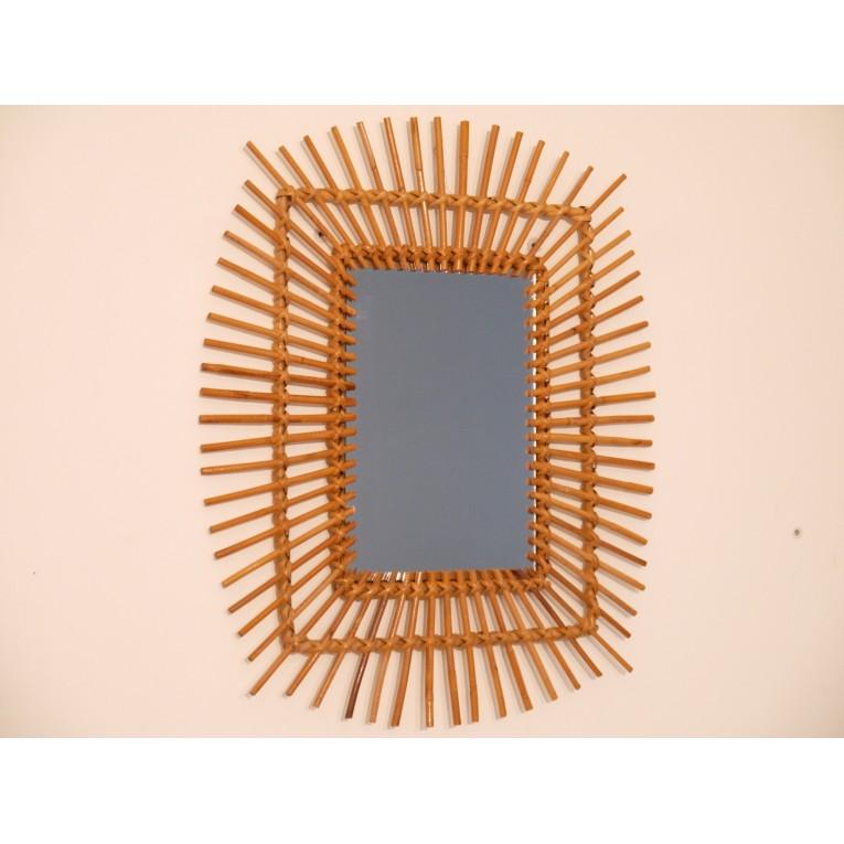 Miroir vintage annee 50 la maison retro for Miroir largeur 50