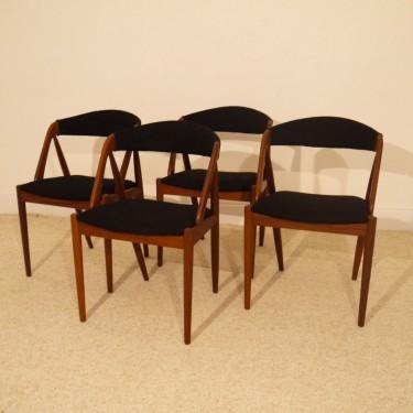 Chaises scandinaves design Kai Kristiansen