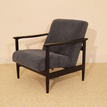 Fauteuil design vintage scandinave année 60