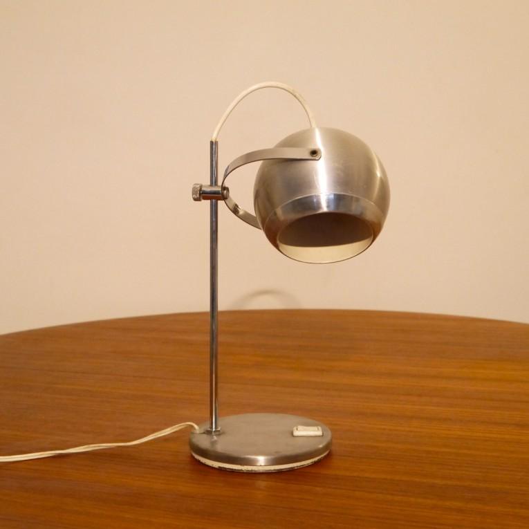 lampe de bureau eyeball vintage la maison retro. Black Bedroom Furniture Sets. Home Design Ideas