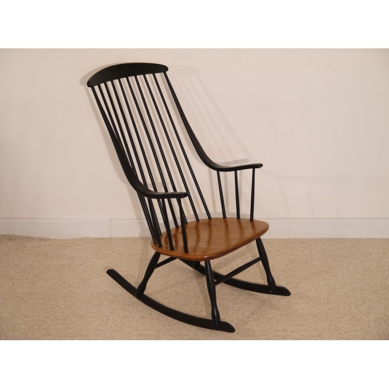 rocking chair vintage scandinave lena larsson la maison retro. Black Bedroom Furniture Sets. Home Design Ideas
