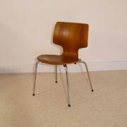 Chaise scandinave en teck style Jacobsen