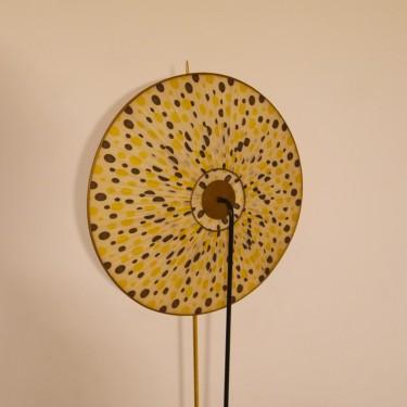 Lampadaire tripode design de Maison Arlus 1950