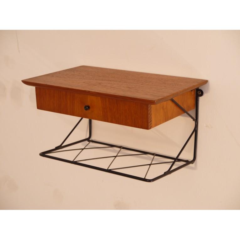 tiroir chevet suspendu tiroir chevet suspendu table de. Black Bedroom Furniture Sets. Home Design Ideas