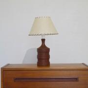 Lampe scandinave en teck 1960