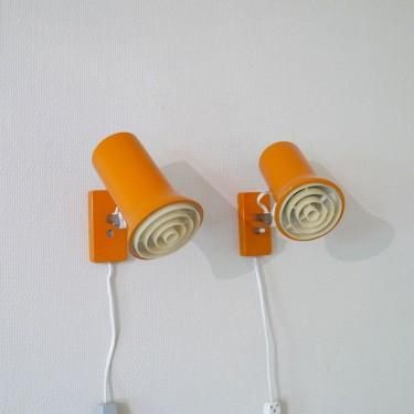 appliques orange
