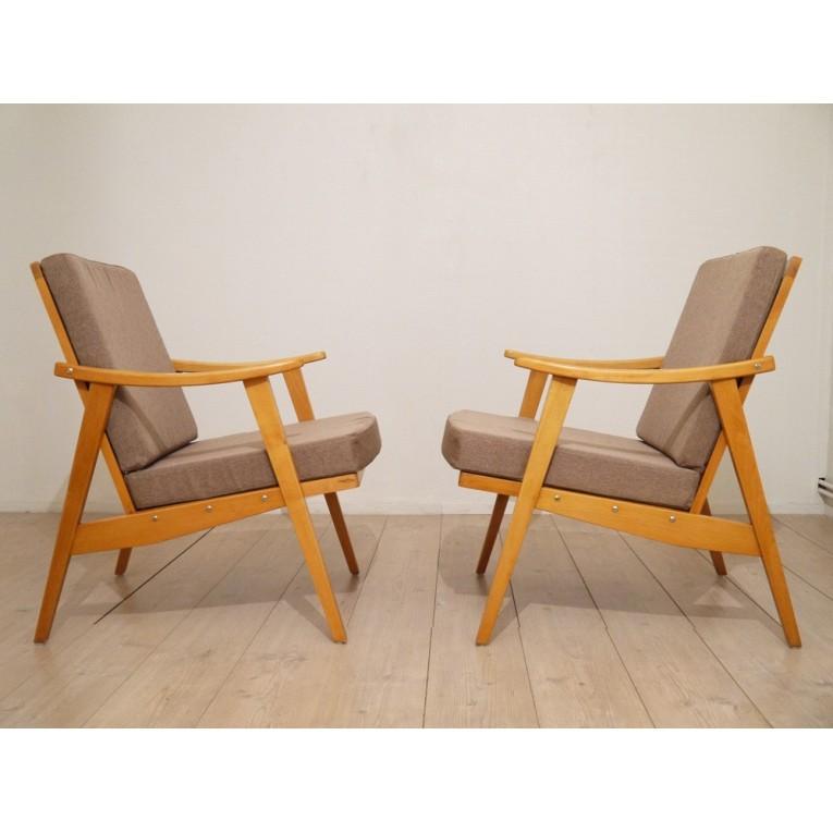 fauteuils vintages meubles scandinaves la maison retro