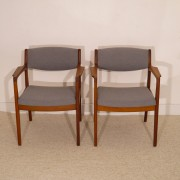 Paire de fauteuils scandinave design Erik Buch