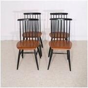Serie de chaises vintage dlg Tapiovaara