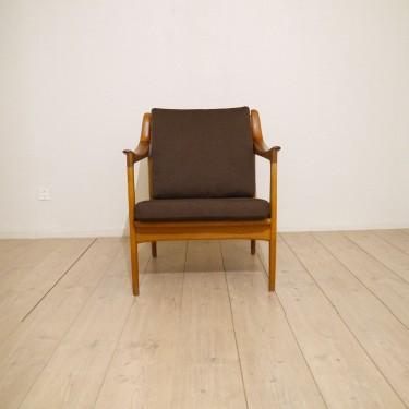 fauteuil vintage scandinave 1950