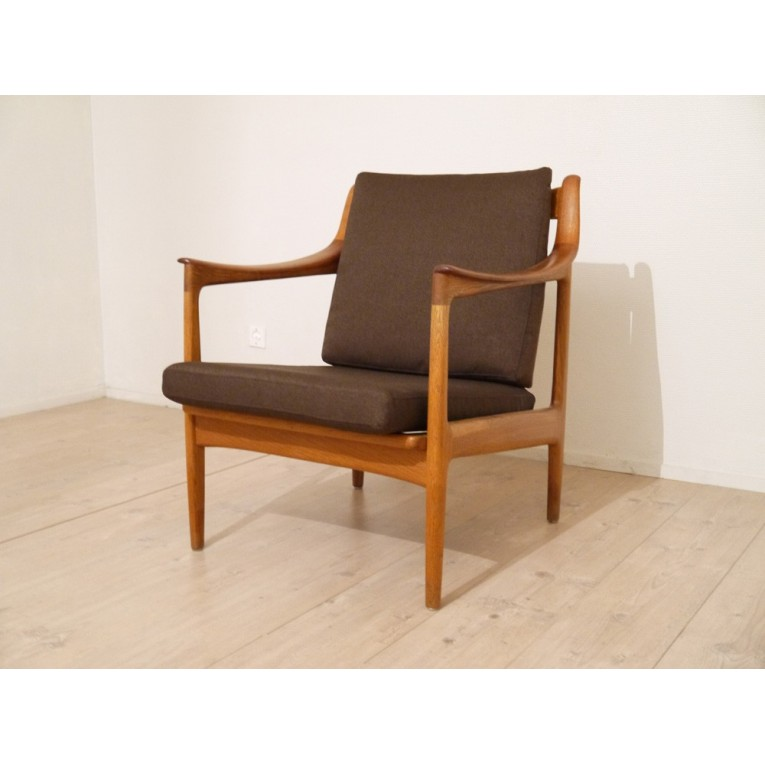 Chaise vintage style scandinave - Chaise design danois ...