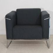 "Paire de fauteuils vintage scandinave ""Asko"" Finlande 1970"