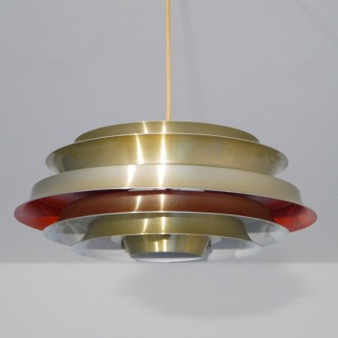 Suspension vintage en laiton design Carl Thore