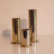 Bougeoirs vintage métal année 70