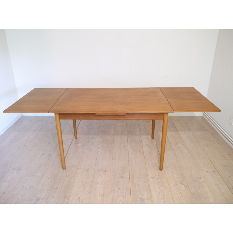 Table repas scandinave vintage la maison retro - Table repas scandinave ...
