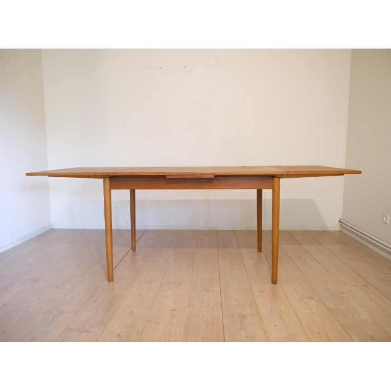 Table repas scandinave vintage la maison retro for Table extensible design scandinave