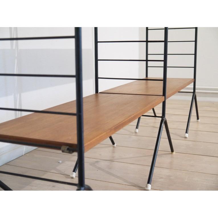 bibliotheque scandinave vintage la maison retro. Black Bedroom Furniture Sets. Home Design Ideas
