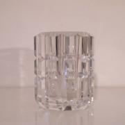 Vase en cristal vintage de Orrefors