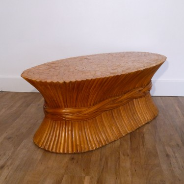 Table basse vintage John Mc Guire
