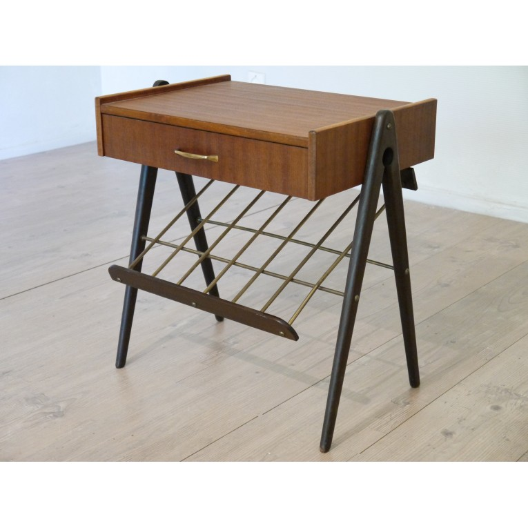 Chevet vintage design scandinave la maison retro - Table de chevet retro ...