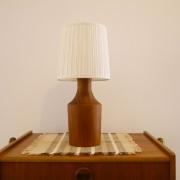 Lampe vintage danoise en teck