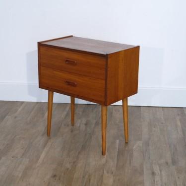 meuble d'appoint vintage scandinave en teck