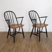 Paire de fauteuil scandinave de Nesto 1960